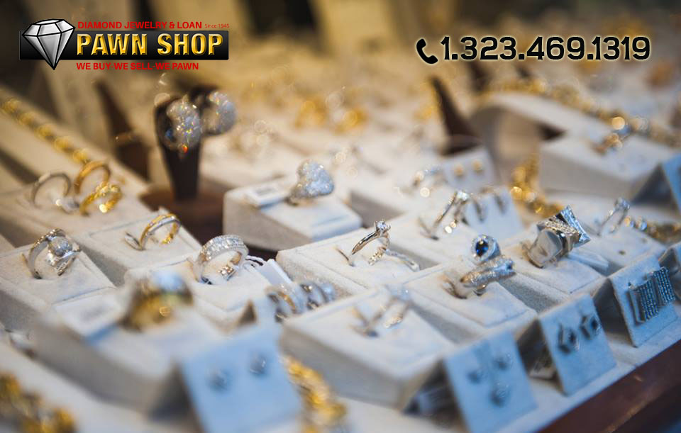Shopping at a Diamond Jewelry and Loan in Los Angeles
