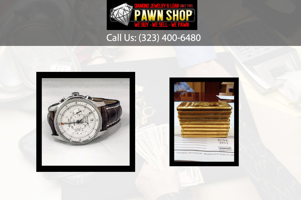 Why Pawn Goods with Diamond Jewelry & Loan in Los Angeles