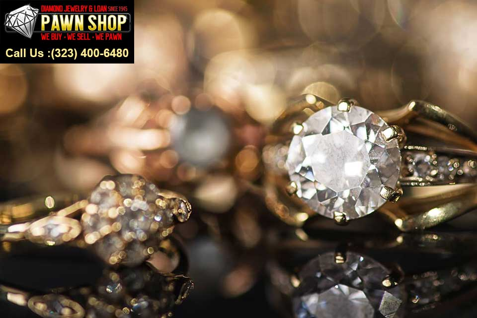 Diamond Jewelry From a Pawn Shop or